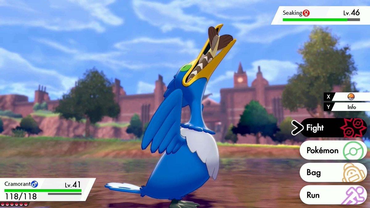 Cramorant pokemon sword and shield
