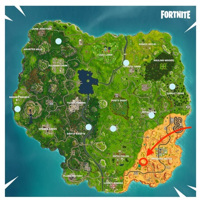 'Fortnite' Week 6 Timed Trials Locations