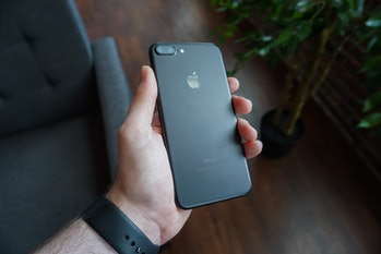 The A10-powered iPhone 7 Plus.
