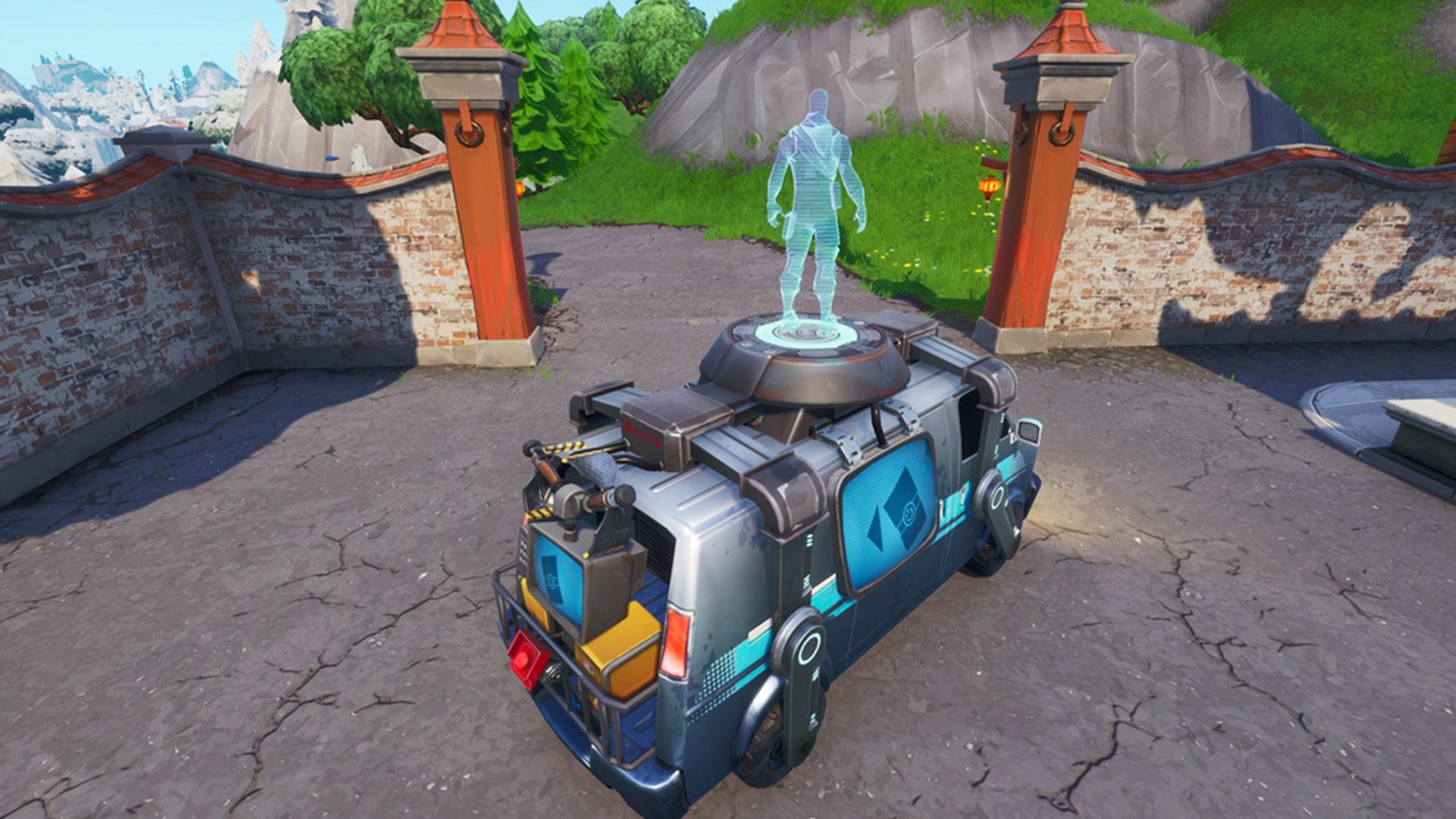 Fortnite Respawn Vans