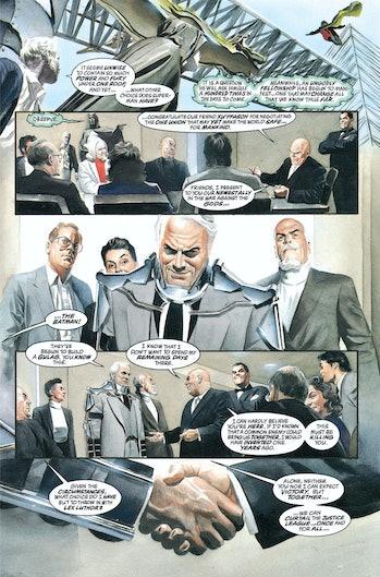 Batman Kingdom Come Crisis on Infinite Earths