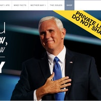 Mike Pence's Website Isn't Hacked, But the Prank is Incredible