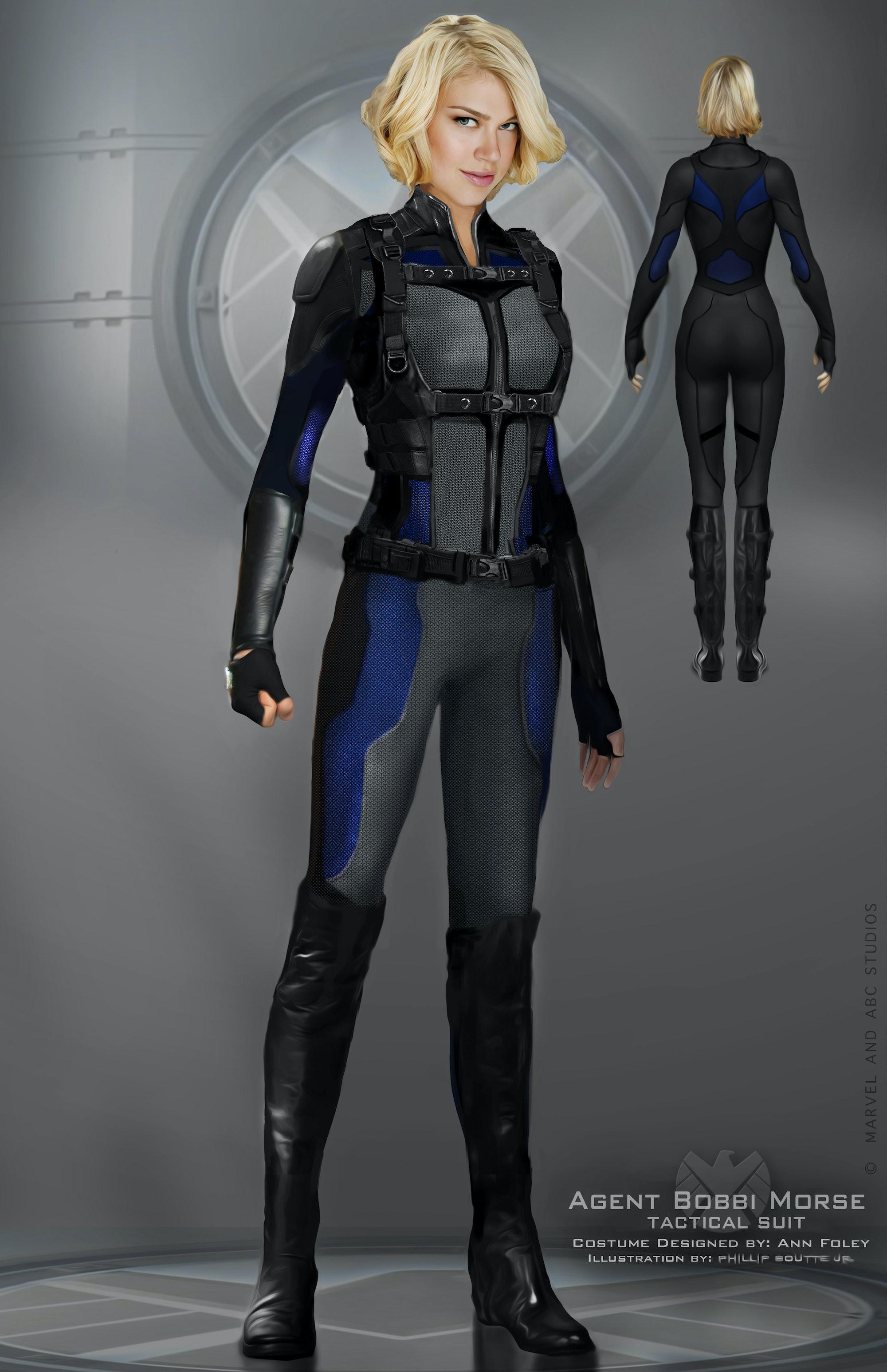 Bobbi Mockingbird Marvel Agents of SHIELD