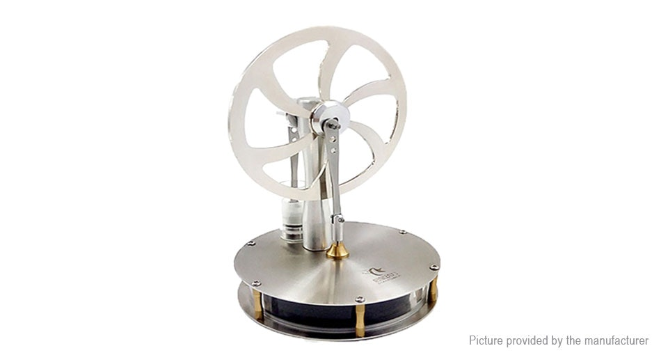 Low Temperature Difference Stirling Engine Motor Model