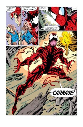 Amazing Spider-Man Carnage Venom