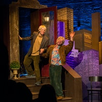 """Nick Kroll and John Mulaney Bring """"Oh, Hello,"""" the Internet, to an IRL Stage"""