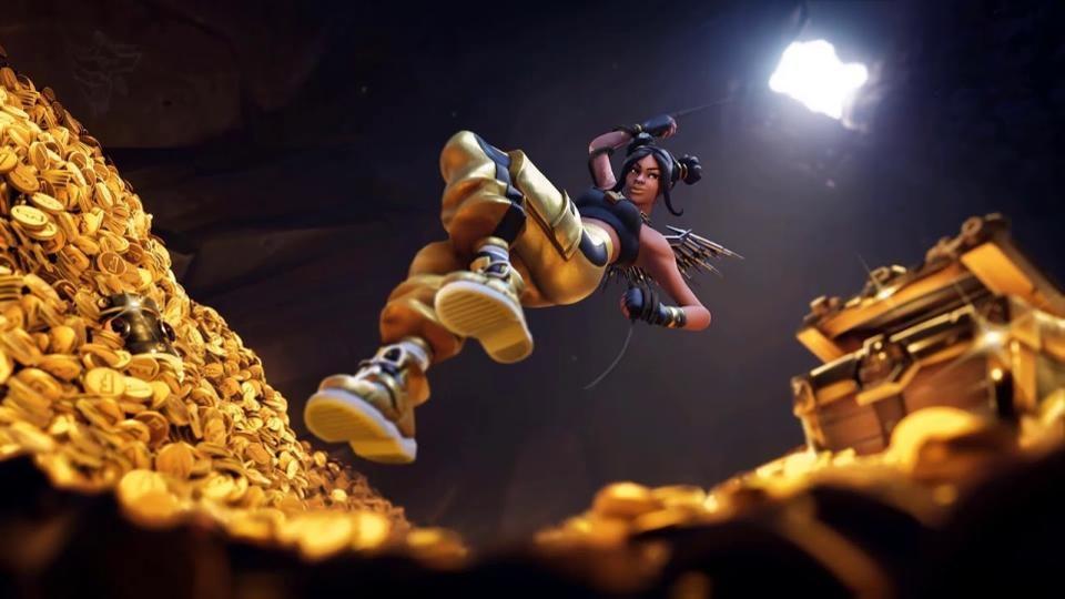 fortnite gold loading scren