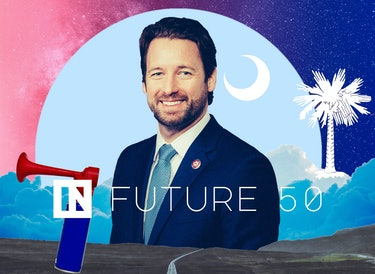 South Carolina Congressman Joe Cunningham is a member of the Inverse Future 50.