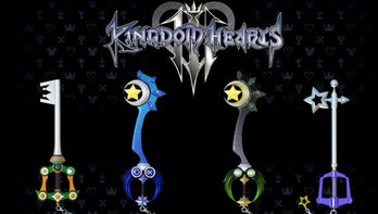 Kingdom Hearts 3 pre-order keyblades