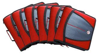 Case-It Might Zip Tab Zipper Binder