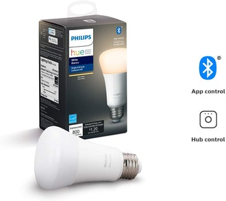 Philips Hue White A19 LED Smart Bulb