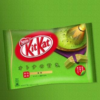 Kit Kat Matcha Japanese Green Tea