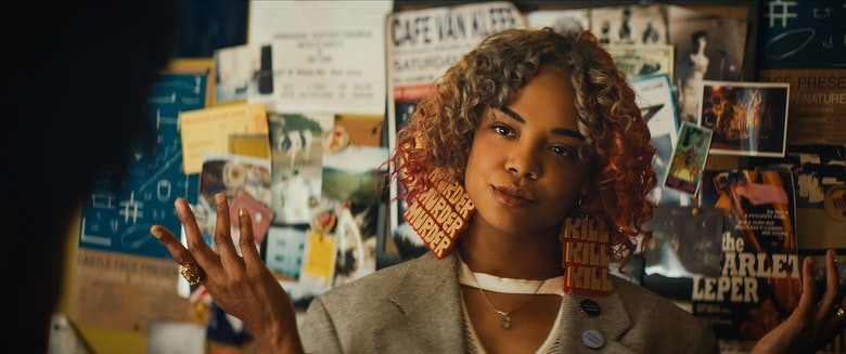 Tessa Thompson as Detroit in 'Sorry to Bother You'.