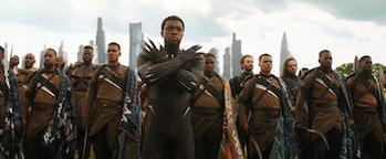 Black Panther Avengers Infinity War