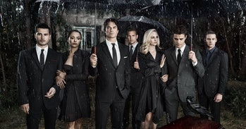 The cast of 'The Vampire Diaries'.