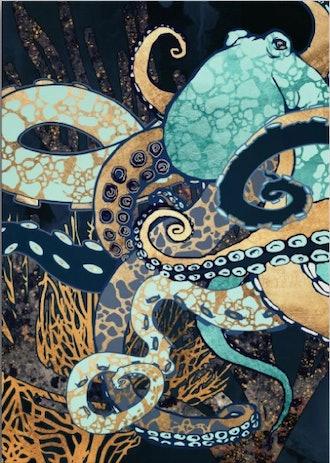 Metallic Octopus II