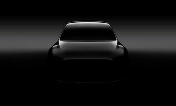 Tesla Model Y promotional image.