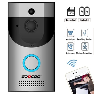 SOOCOO Wireless WIFI Video Doorbell Security Camera,