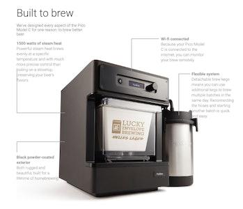 picobrew home brewing kit