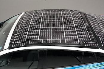 Toyota Solar Car