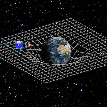earth gravity well