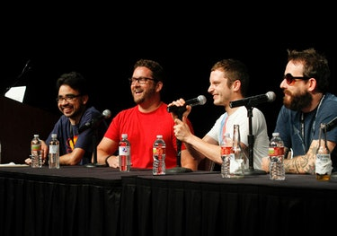 Rooster Teeth Elijah Wood RTX