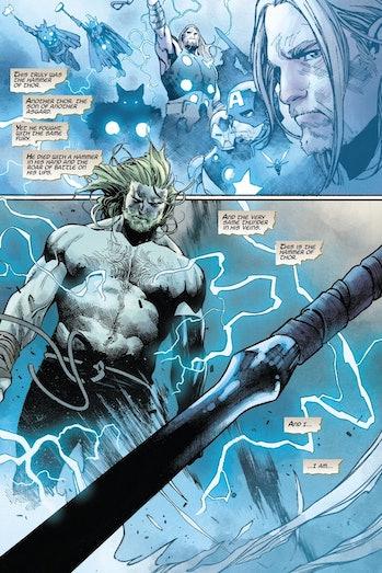 Panel for Unworthy Thor #2