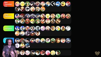 smash bros ultimate 6.1 tier list
