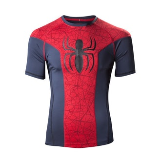 Spider Man Athletic Base Layer Top