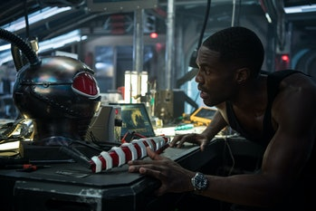 black manta actor Yahya Abdul-Mateen II aquaman