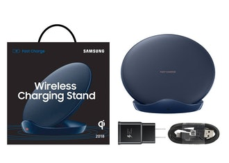 Samsung Qi Certified Fast Charge Wireless Charger Stand (2018 Edition) - US Version - Black - EP-N51...