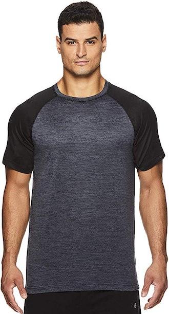 Gaiam Men's Raglan Crew-Neck T-Shirt,
