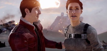 Del Meeko and Iden Versio after the Battle of Jakku.