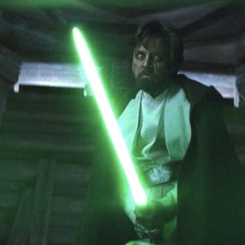 luke green lightsaber