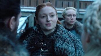 Game of Thrones Sansa Season 8 sansa daenerys winterfell jon snow