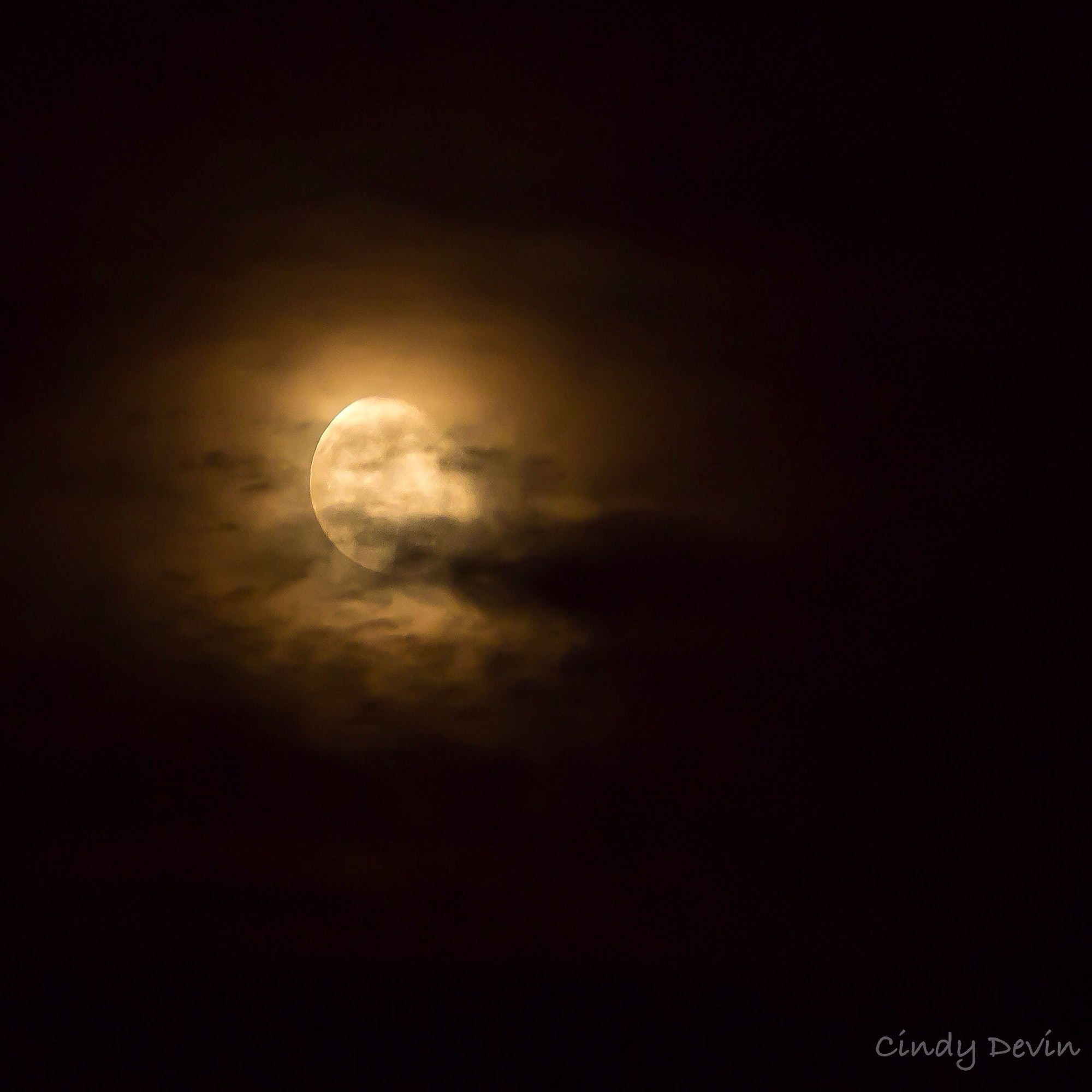 Strawberry Moon. June 2015, Tucson, Arizona.