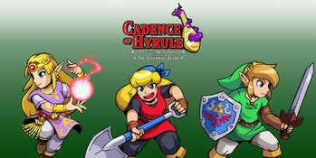 cadence of hyrule zelda or link