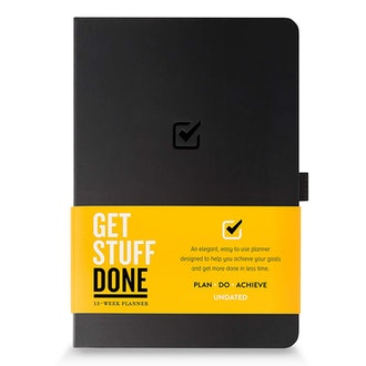 Get Stuff Done Undated Productivity Journal
