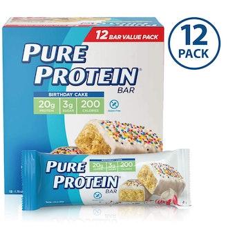 Pure Protein Bars Birthday Cake - 12 Pack