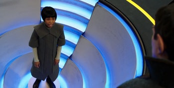 Young Michael Burnham being tested on Vulcan with Sarek in 'Star Trek: Discovery.'