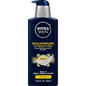 NIVEA Men Maximum Hydration 3-in-1 Nourishing Lotion