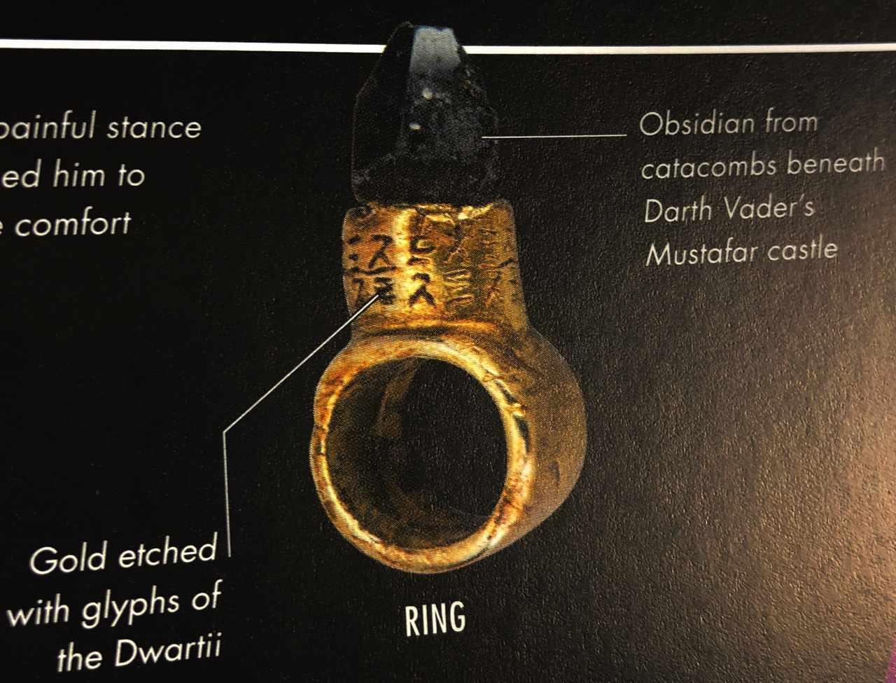 snoke gold ring star wars