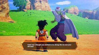 Gohan Training With Piccolo Dragon Ball Kakarot