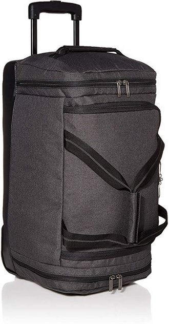 Solo New York Downtown Travel Rolling Carry-On Duffel Bag