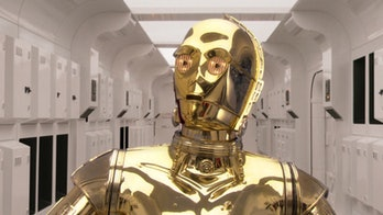C-3PO is a bumbling protocol droid in the Star Wars movies.
