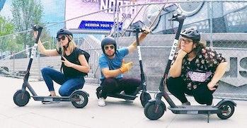 helmets e scooter bird