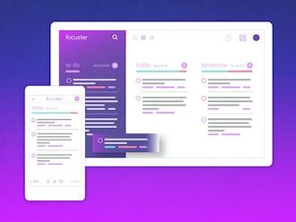 Focuster Productivity App: Lifetime Subscription