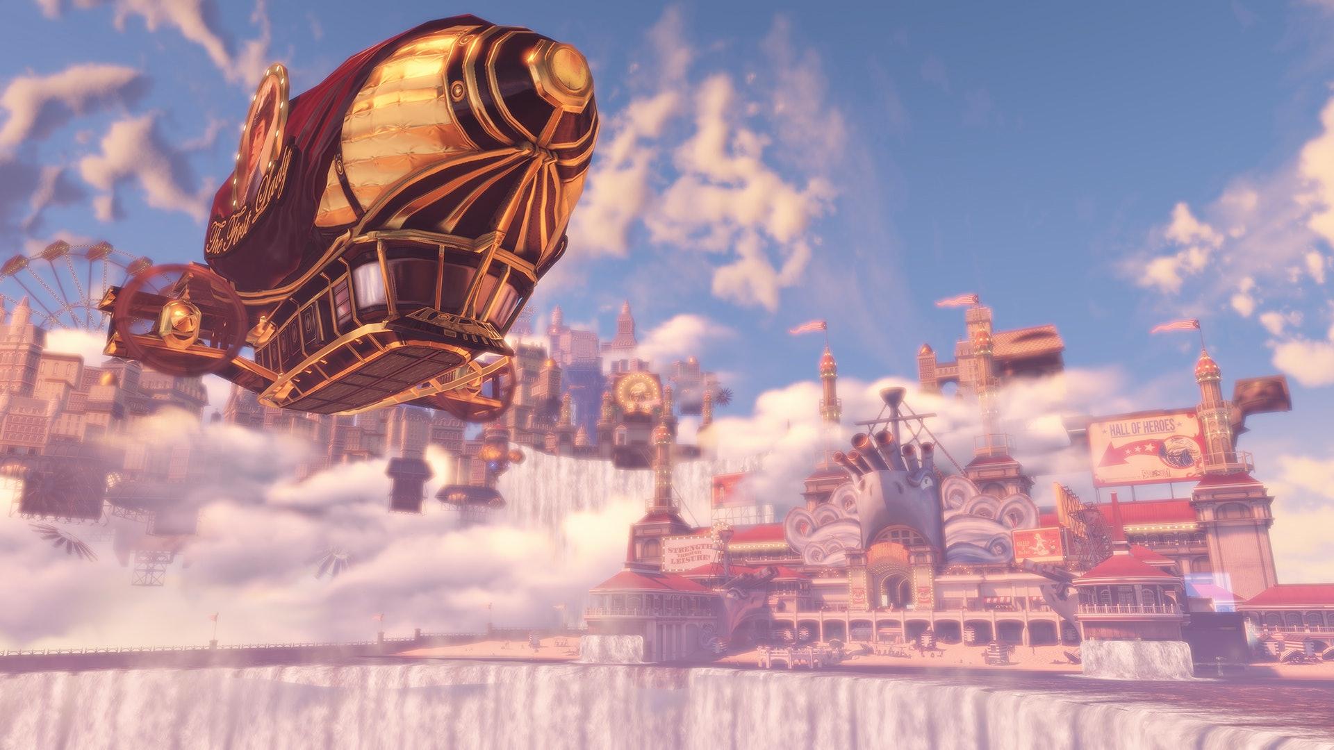 BioShock Infinite Columbia quantum levitation