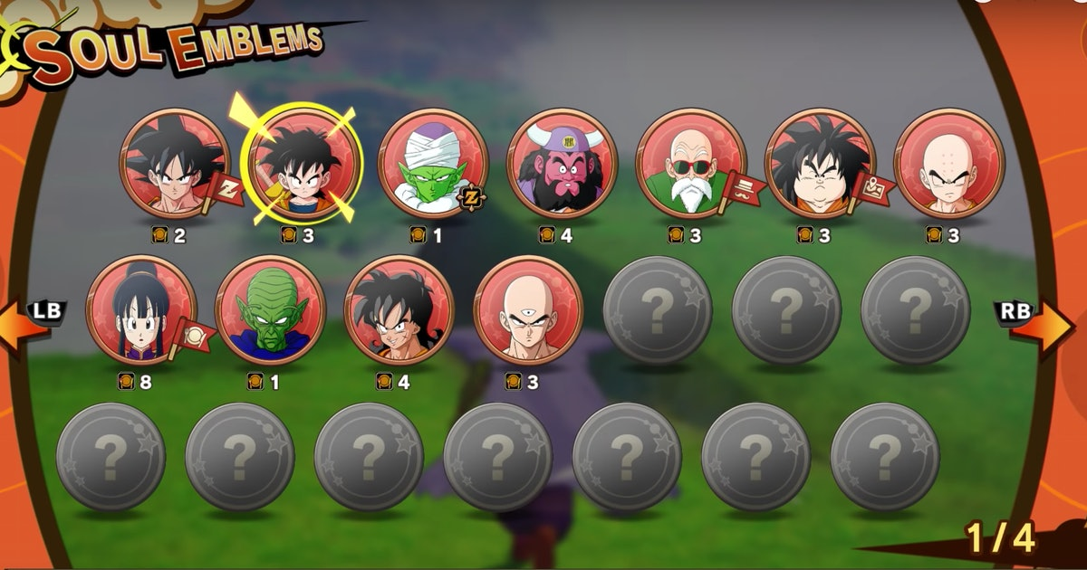 Dragon Ball Z Kakarot' Soul Emblems guide: How to use Community Boards