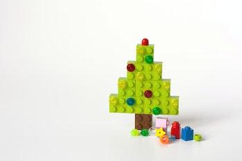 plastic Christmas tree